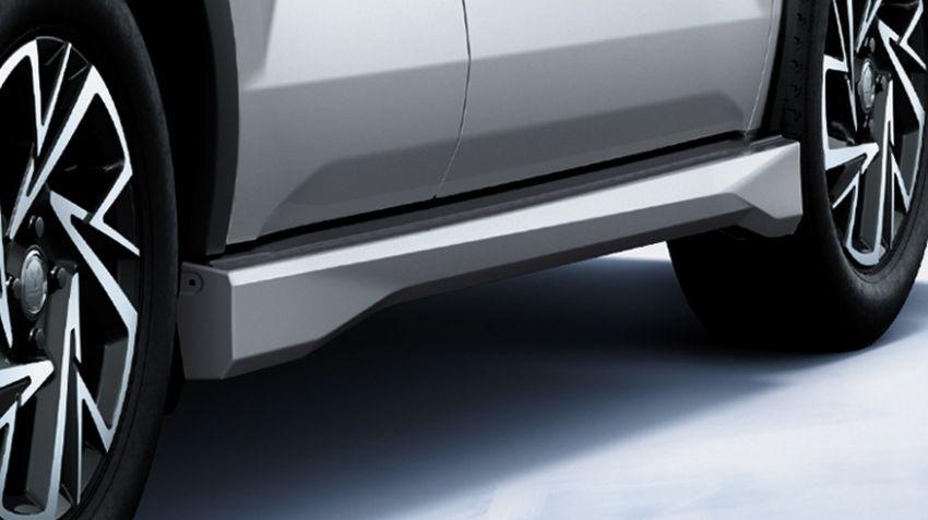 Toyota Raize Modellista dalam dua gaya berbeza Image #1043895