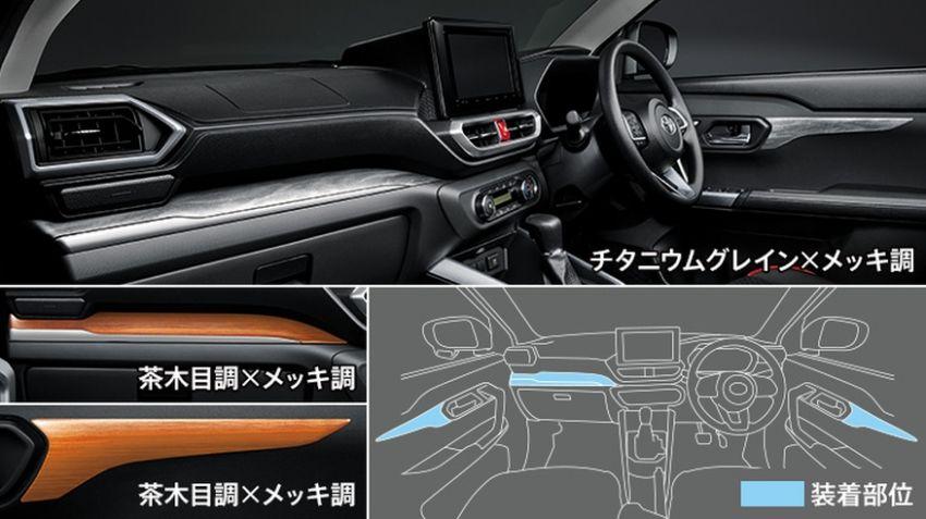 Toyota Raize Modellista dalam dua gaya berbeza Image #1043905