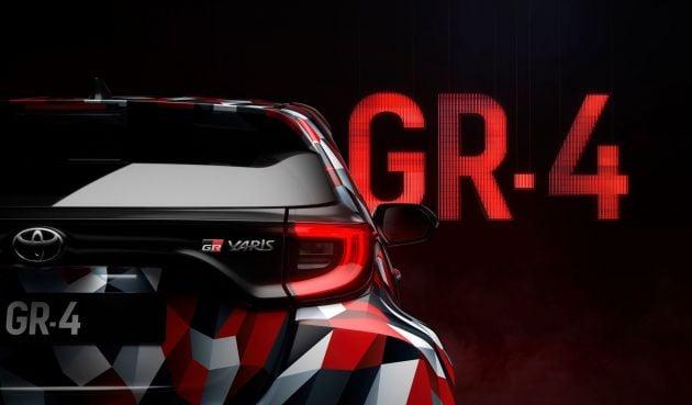 Toyota Yaris GR-4 teased – WRC-inspired model? Image #1042164