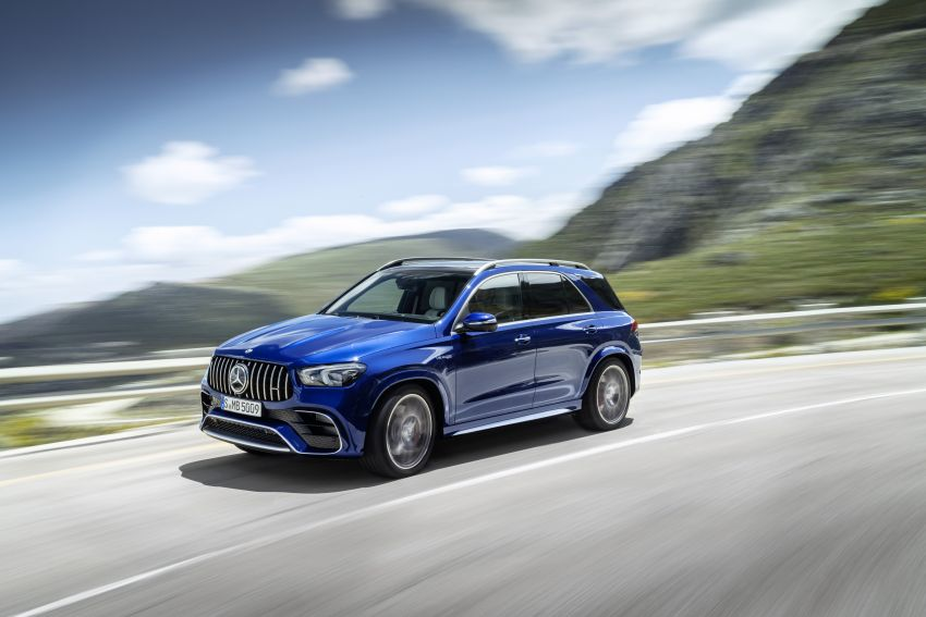 V167 Mercedes-AMG GLE63 – 4.0L biturbo V8 with EQ Boost mild hybrid, 612 PS, 850 Nm, 0-100 km/h in 3.8s Image #1049142