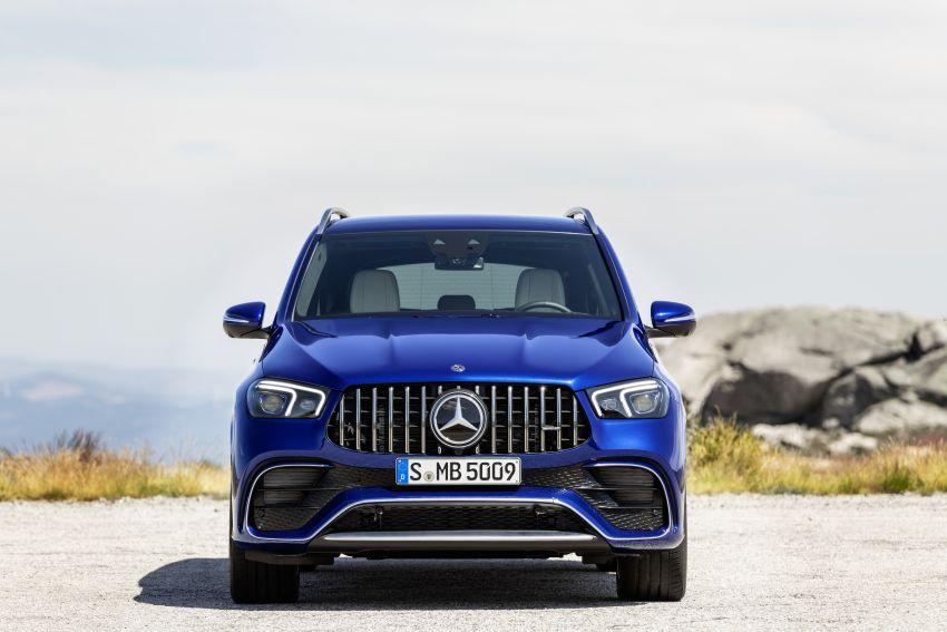 V167 Mercedes-AMG GLE63 – 4.0L biturbo V8 with EQ Boost mild hybrid, 612 PS, 850 Nm, 0-100 km/h in 3.8s Image #1049172