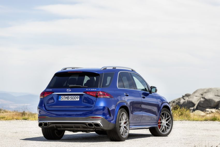 V167 Mercedes-AMG GLE63 – 4.0L biturbo V8 with EQ Boost mild hybrid, 612 PS, 850 Nm, 0-100 km/h in 3.8s Image #1049178