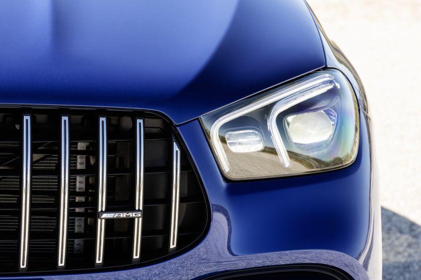 V167 Mercedes-AMG GLE63 – 4.0L biturbo V8 with EQ Boost mild hybrid, 612 PS, 850 Nm, 0-100 km/h in 3.8s Image #1049181