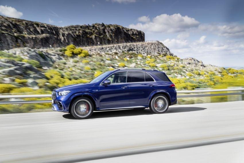 V167 Mercedes-AMG GLE63 – 4.0L biturbo V8 with EQ Boost mild hybrid, 612 PS, 850 Nm, 0-100 km/h in 3.8s Image #1049144