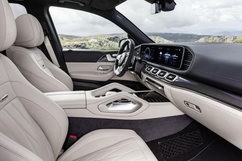 V167 Mercedes-AMG GLE63 – 4.0L biturbo V8 with EQ Boost mild hybrid, 612 PS, 850 Nm, 0-100 km/h in 3.8s Image #1049146