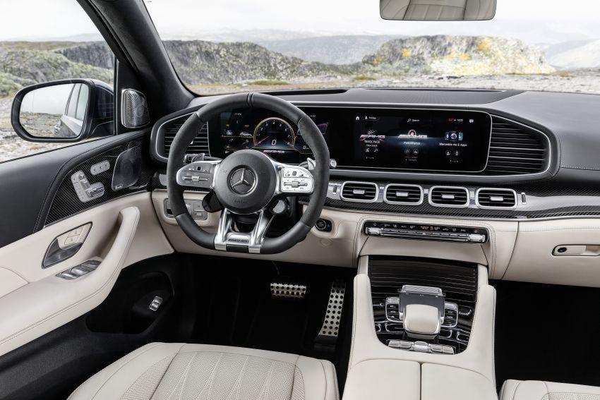 V167 Mercedes-AMG GLE63 – 4.0L biturbo V8 with EQ Boost mild hybrid, 612 PS, 850 Nm, 0-100 km/h in 3.8s Image #1049149