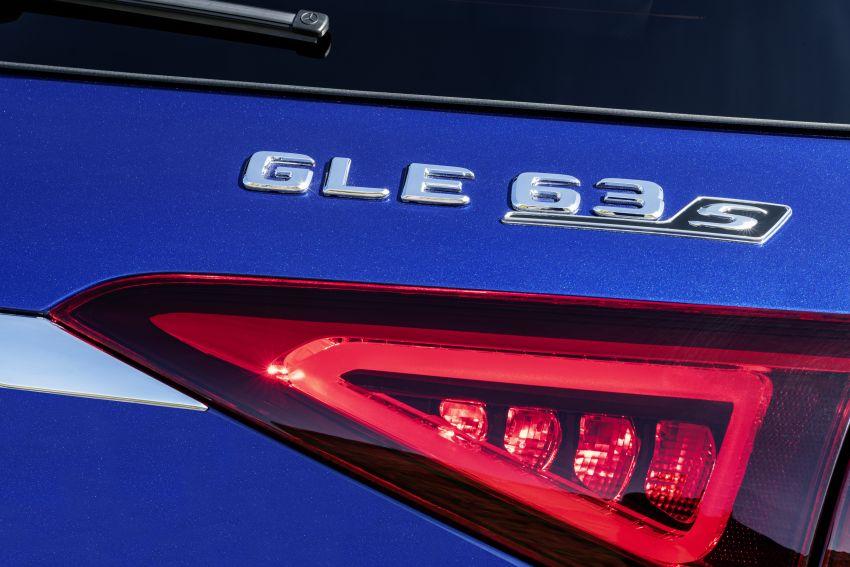 V167 Mercedes-AMG GLE63 – 4.0L biturbo V8 with EQ Boost mild hybrid, 612 PS, 850 Nm, 0-100 km/h in 3.8s Image #1049151