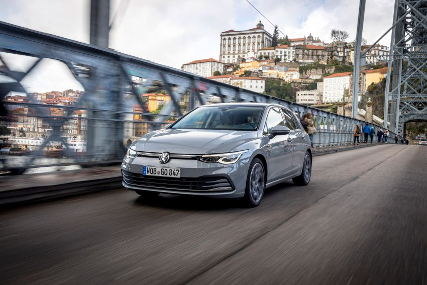MEGA GALLERY: Volkswagen Golf Mk8 gets detailed Image #1052494