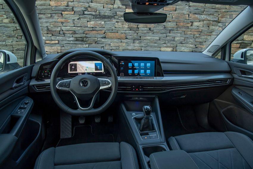 MEGA GALLERY: Volkswagen Golf Mk8 gets detailed Image #1052611