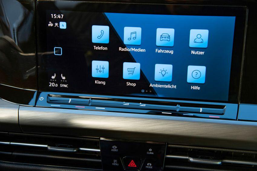MEGA GALLERY: Volkswagen Golf Mk8 gets detailed Image #1052614