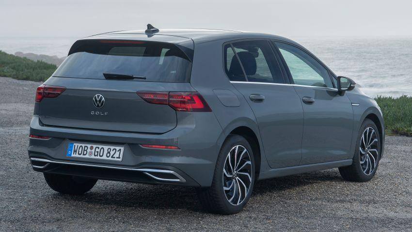 MEGA GALLERY: Volkswagen Golf Mk8 gets detailed Image #1052619