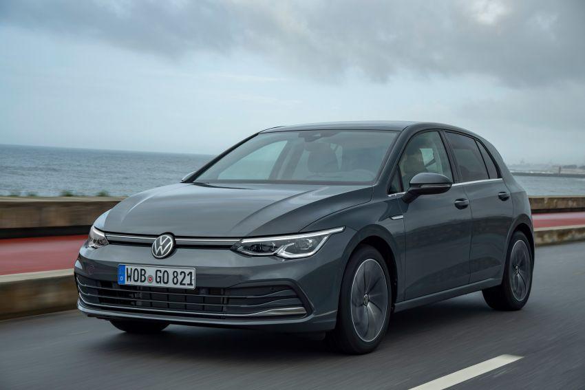 MEGA GALLERY: Volkswagen Golf Mk8 gets detailed Image #1052625