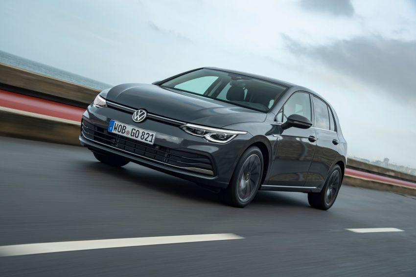 MEGA GALLERY: Volkswagen Golf Mk8 gets detailed Image #1052631