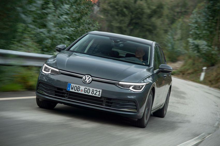 MEGA GALLERY: Volkswagen Golf Mk8 gets detailed Image #1052636