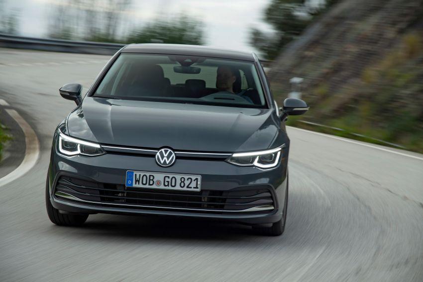 MEGA GALLERY: Volkswagen Golf Mk8 gets detailed Image #1052639