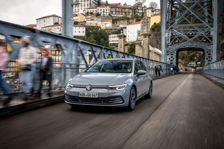 MEGA GALLERY: Volkswagen Golf Mk8 gets detailed Image #1052508