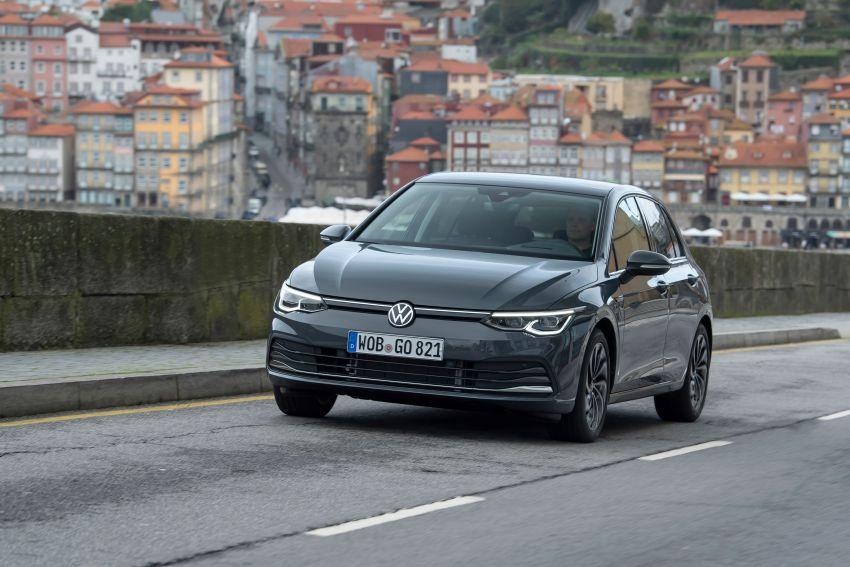 MEGA GALLERY: Volkswagen Golf Mk8 gets detailed Image #1052645