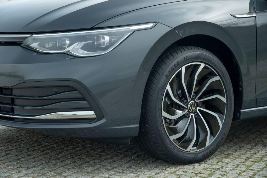 MEGA GALLERY: Volkswagen Golf Mk8 gets detailed Image #1052651