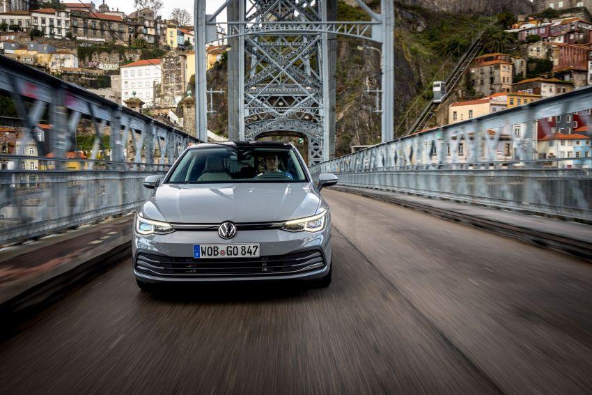 MEGA GALLERY: Volkswagen Golf Mk8 gets detailed Image #1052509