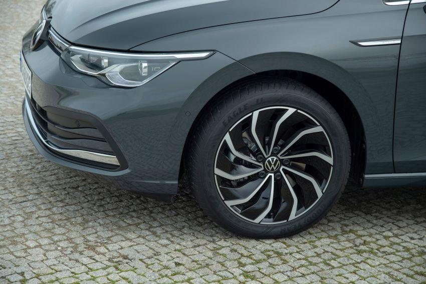 MEGA GALLERY: Volkswagen Golf Mk8 gets detailed Image #1052652