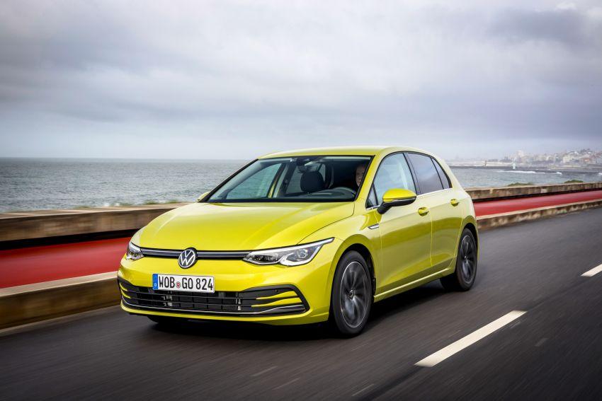 MEGA GALLERY: Volkswagen Golf Mk8 gets detailed Image #1052656