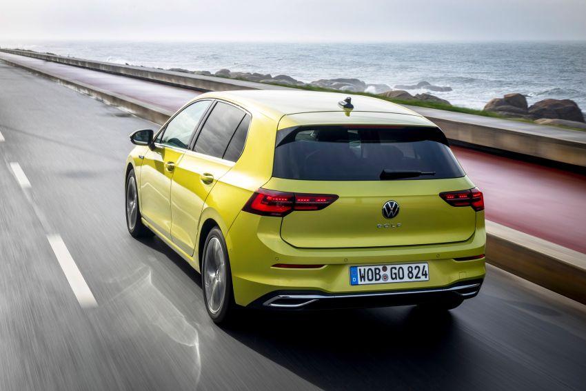 MEGA GALLERY: Volkswagen Golf Mk8 gets detailed Image #1052657