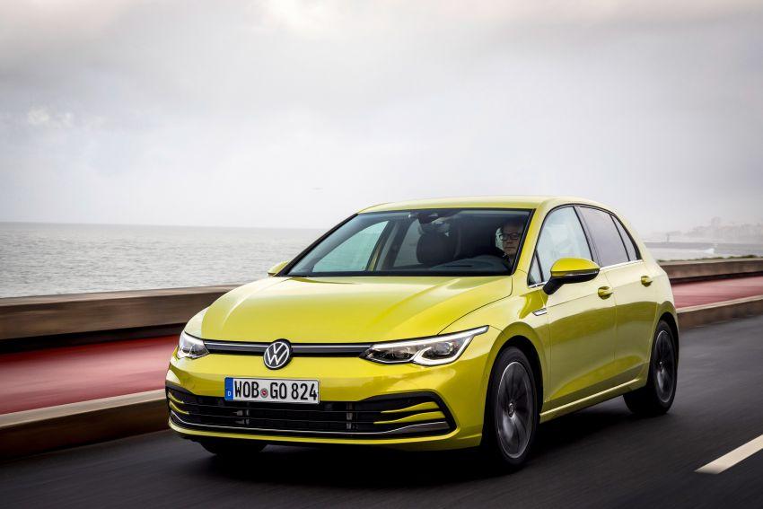 MEGA GALLERY: Volkswagen Golf Mk8 gets detailed Image #1052658