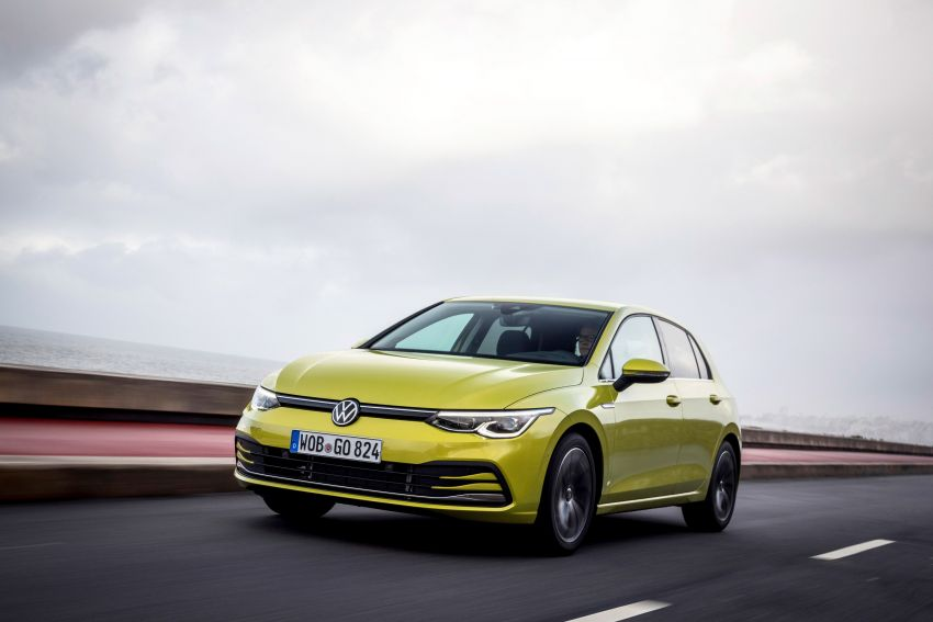MEGA GALLERY: Volkswagen Golf Mk8 gets detailed Image #1052660