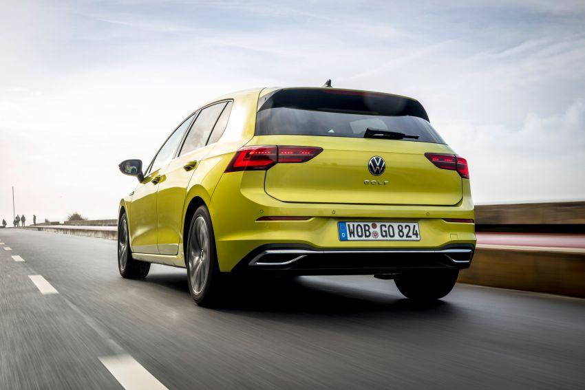 MEGA GALLERY: Volkswagen Golf Mk8 gets detailed Image #1052670