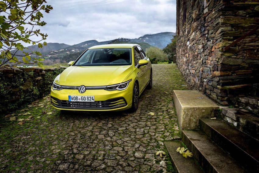 MEGA GALLERY: Volkswagen Golf Mk8 gets detailed Image #1052674