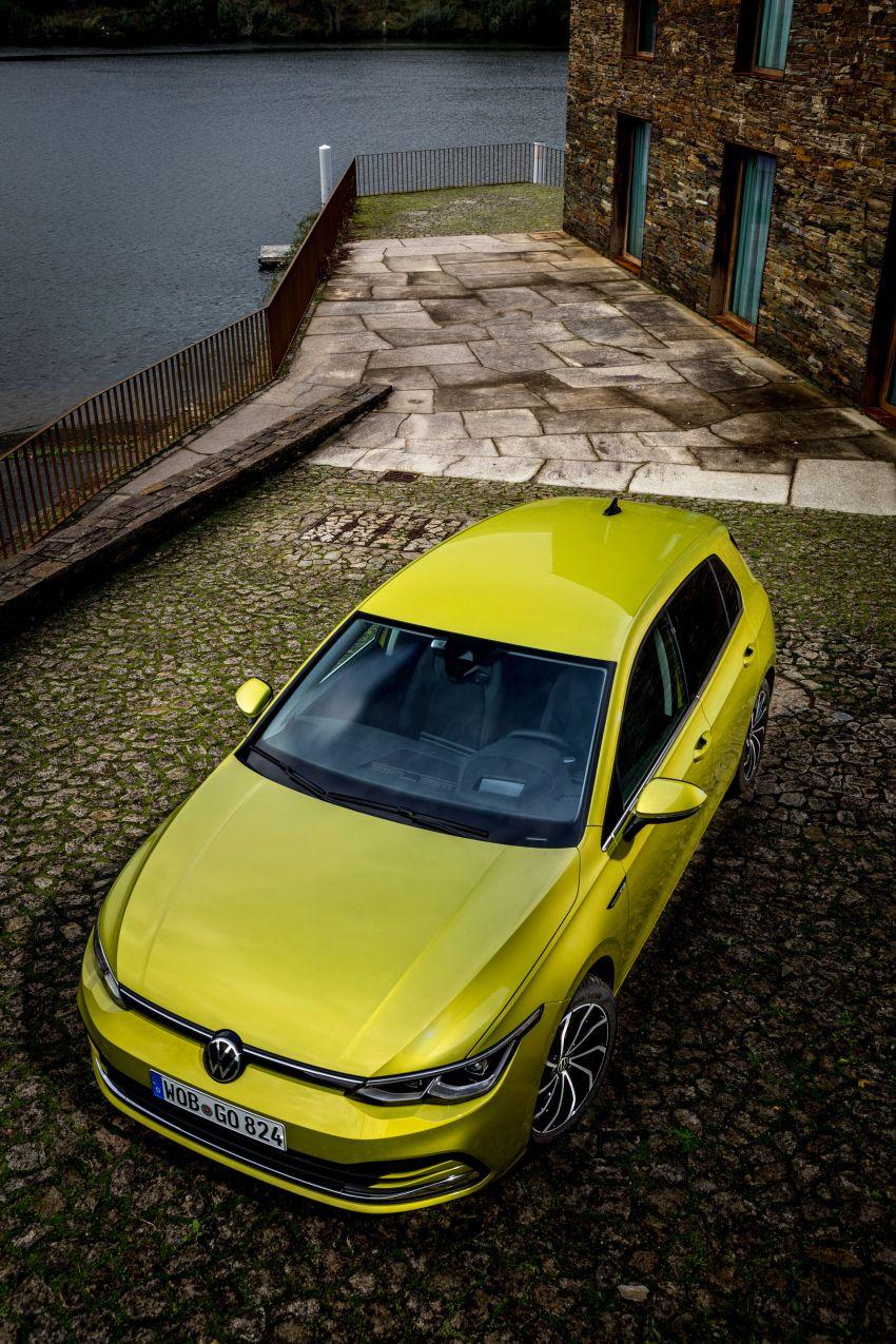 MEGA GALLERY: Volkswagen Golf Mk8 gets detailed Image #1052678