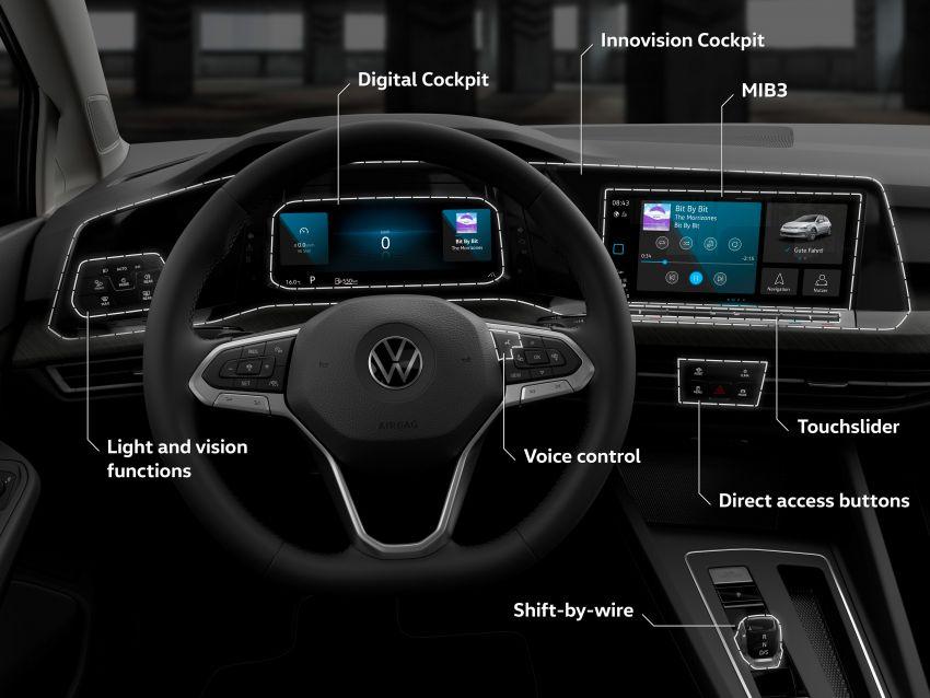MEGA GALLERY: Volkswagen Golf Mk8 gets detailed Image #1052682