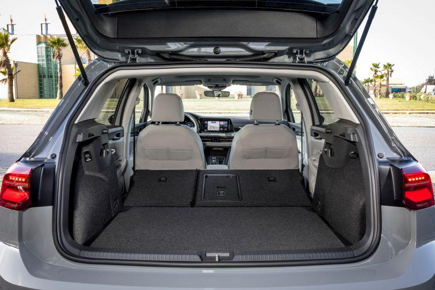 MEGA GALLERY: Volkswagen Golf Mk8 gets detailed Image #1052512