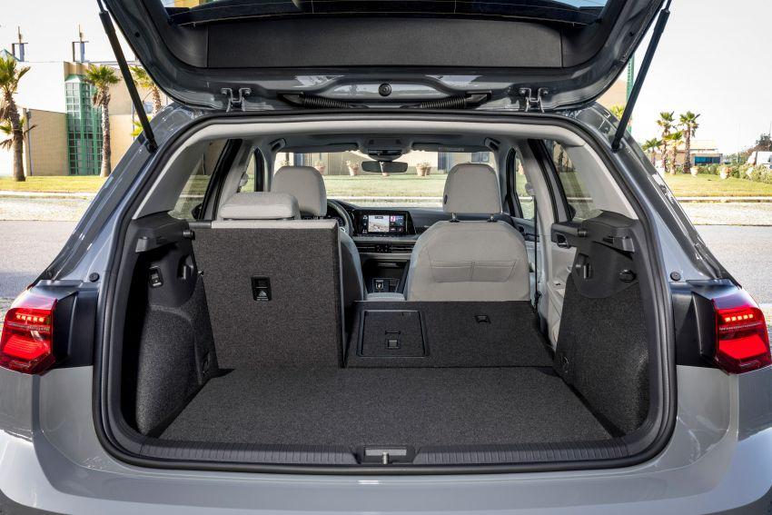 MEGA GALLERY: Volkswagen Golf Mk8 gets detailed Image #1052513