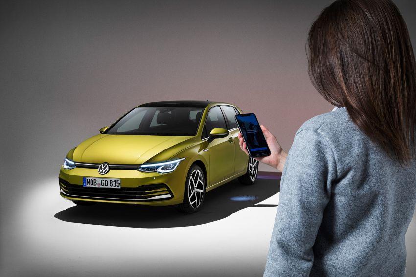 MEGA GALLERY: Volkswagen Golf Mk8 gets detailed Image #1052696