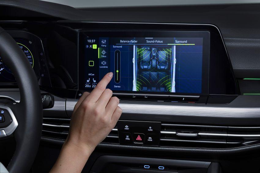 MEGA GALLERY: Volkswagen Golf Mk8 gets detailed Image #1052708