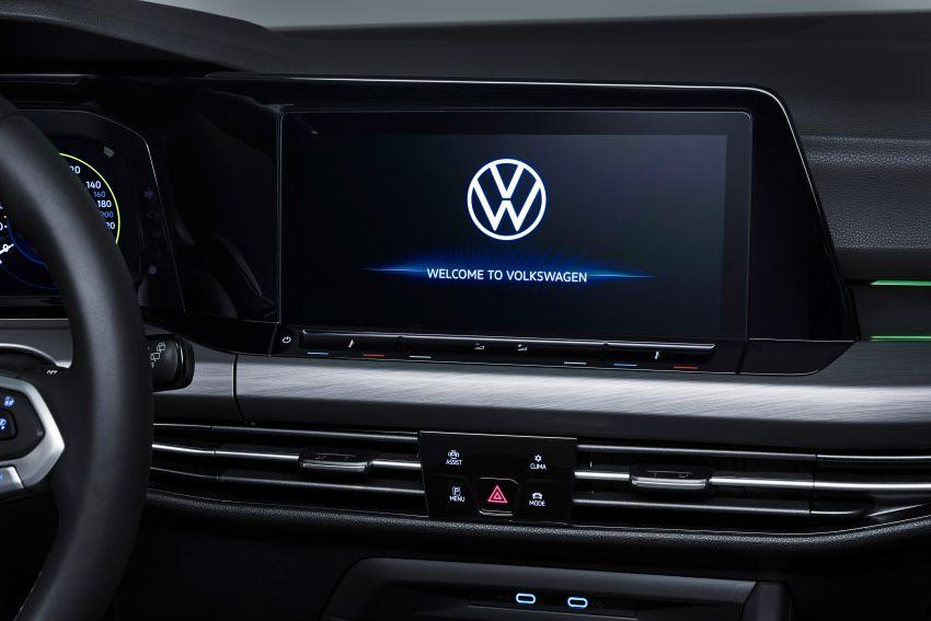 MEGA GALLERY: Volkswagen Golf Mk8 gets detailed Image #1052711