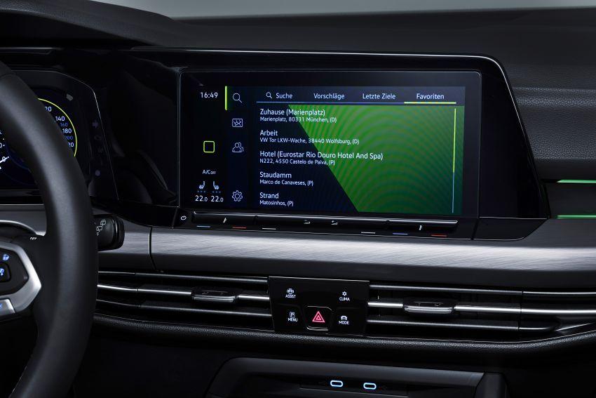 MEGA GALLERY: Volkswagen Golf Mk8 gets detailed Image #1052713