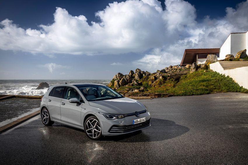 MEGA GALLERY: Volkswagen Golf Mk8 gets detailed Image #1052519