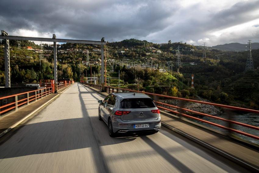 MEGA GALLERY: Volkswagen Golf Mk8 gets detailed Image #1052533