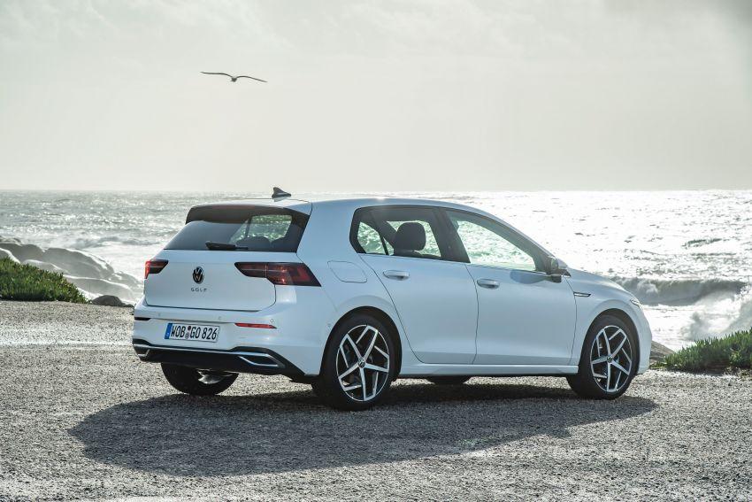 MEGA GALLERY: Volkswagen Golf Mk8 gets detailed Image #1052540