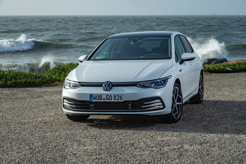 MEGA GALLERY: Volkswagen Golf Mk8 gets detailed Image #1052547