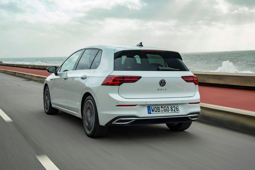 MEGA GALLERY: Volkswagen Golf Mk8 gets detailed Image #1052553