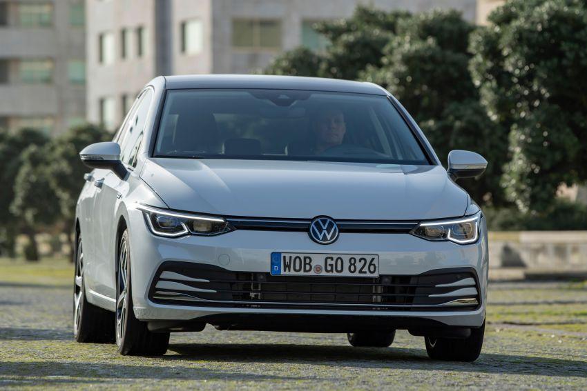 MEGA GALLERY: Volkswagen Golf Mk8 gets detailed Image #1052566