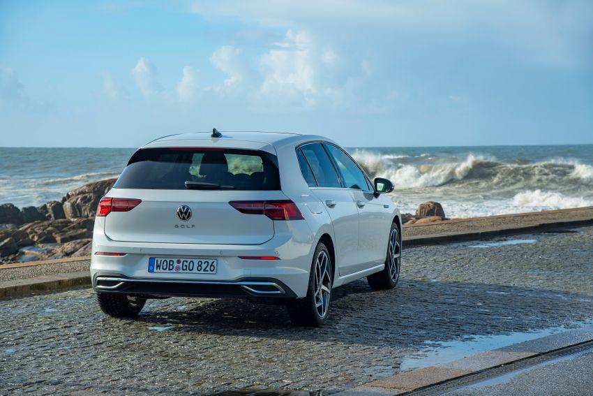 MEGA GALLERY: Volkswagen Golf Mk8 gets detailed Image #1052573