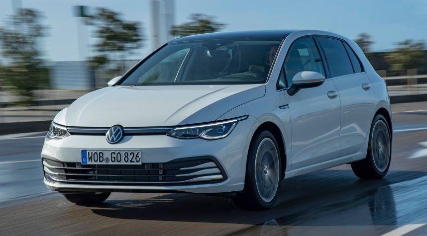 MEGA GALLERY: Volkswagen Golf Mk8 gets detailed Image #1052574