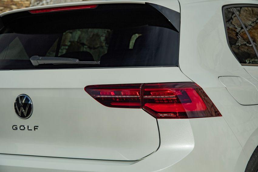 MEGA GALLERY: Volkswagen Golf Mk8 gets detailed Image #1052583