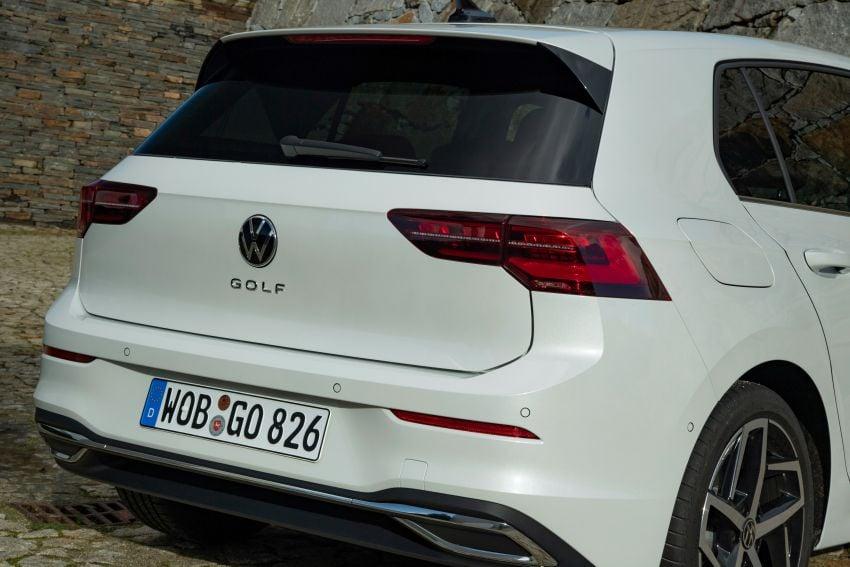 MEGA GALLERY: Volkswagen Golf Mk8 gets detailed Image #1052586