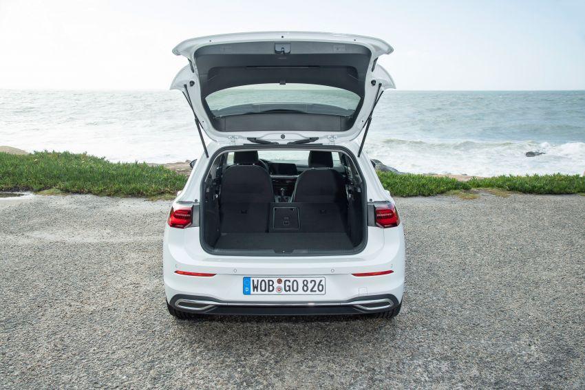 MEGA GALLERY: Volkswagen Golf Mk8 gets detailed Image #1052595