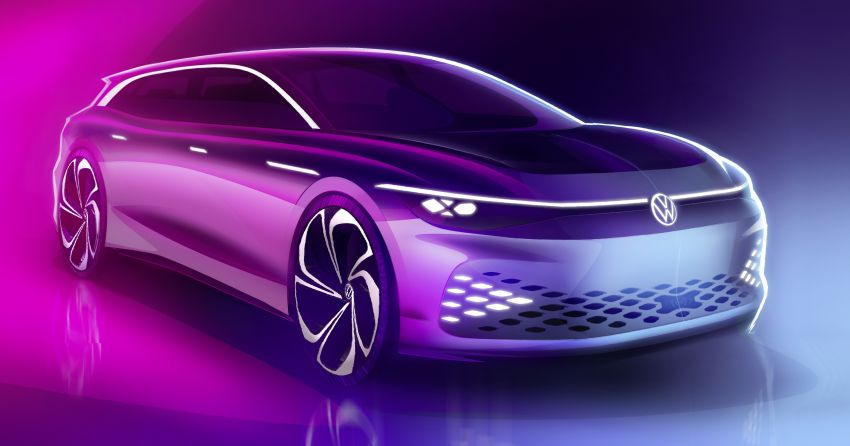 Volkswagen ID. Space Vizzion wagon set for LA debut Image #1043556